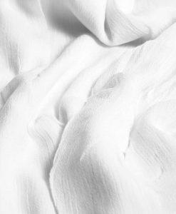 Cashmere hijab - white - hidden pearls