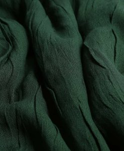 Cashmere hijab - bottle green - hidden pearls