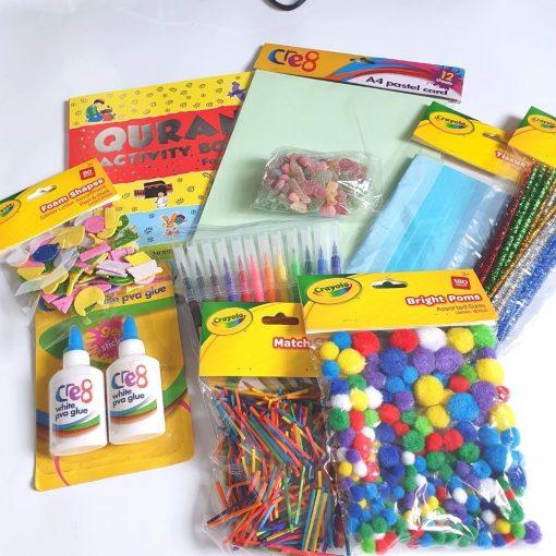 Quran Islamic Activity & Crafts Pack - Hidden Pearls