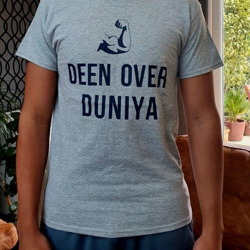 Deen over Duniya T-shirt4