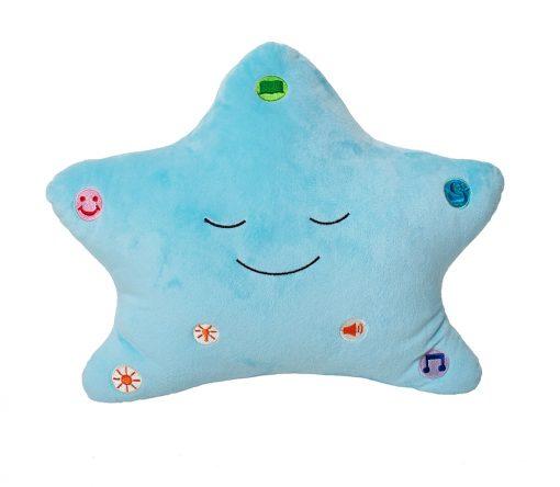 my dua pillow blue